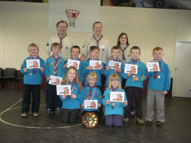Beavers Win District Akeema Shield Competition