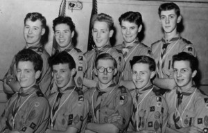 The first Queens Scouts