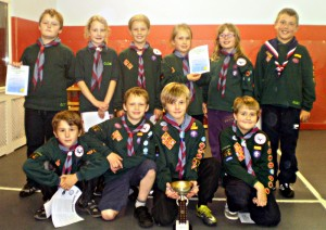 Rossendale District Cubs Swimming Gala
