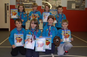 District Beaver Scout Curling Competition