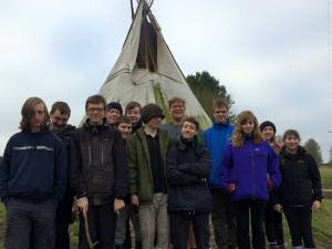 Explorers Tipi Camp