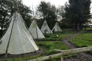 Purple Troop Tipi Village Camp