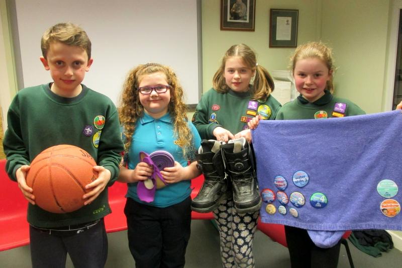 Purple Pack Sports Activity Badge