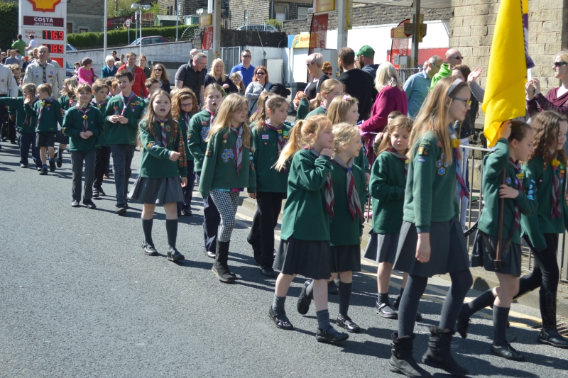 St. Georges Day Parade.