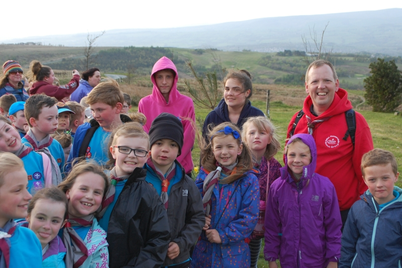 Beavers Hike to the Singing Ringing Tree