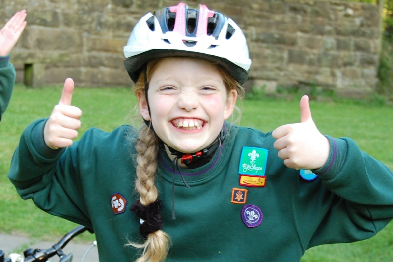 Cyclist Activity Badge