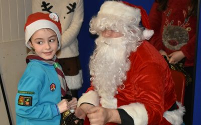 Rossendale District Beavers Christmas Party 2017