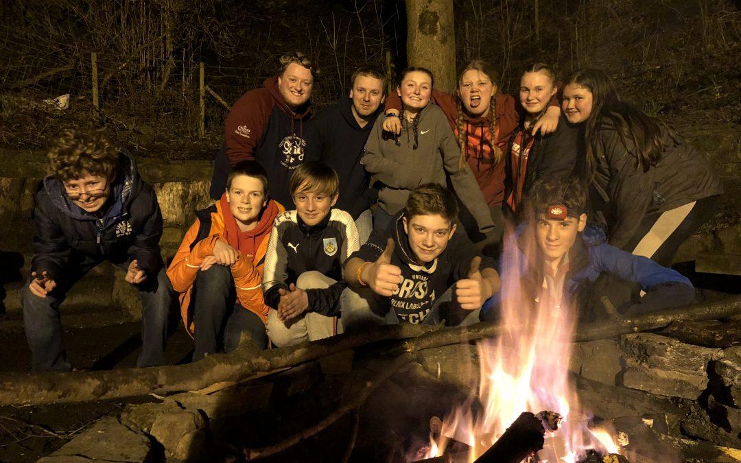 Purple Troop's Leadership Camp