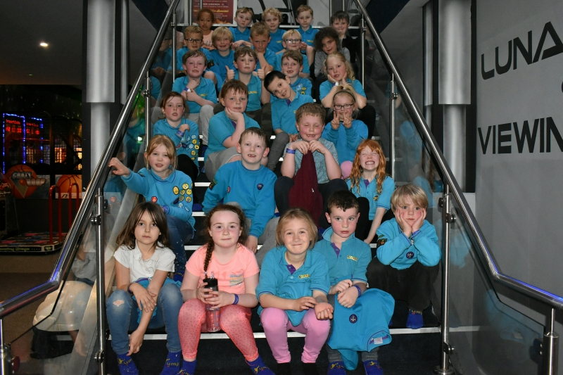 Beaver Scouts Jump Works 2019