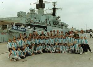 Visit to HMS Beaver