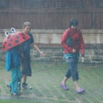 Fun in the rain!