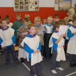 Beavers hold a Scouts Own Service