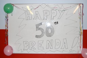 Happy Birthday Brenda!
