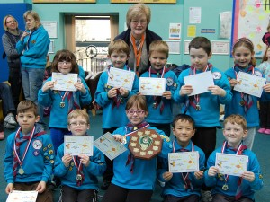 Rossendale District Beaver Scout Akeema Shield Competition
