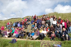District Centenary Walk to Waugh's Well