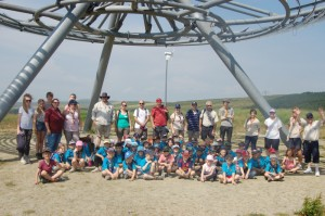 District Beaver Scout Hike to the Halo