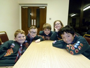 Cubs Fire Safety Competition