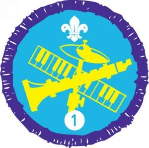 Purple Beavers Musician Activity Badge