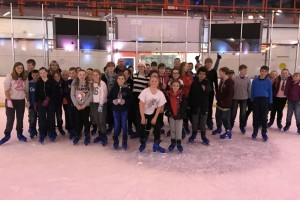 Scouts Ice Skating