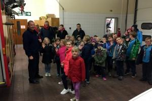 Purple Colony Fire Station Visit
