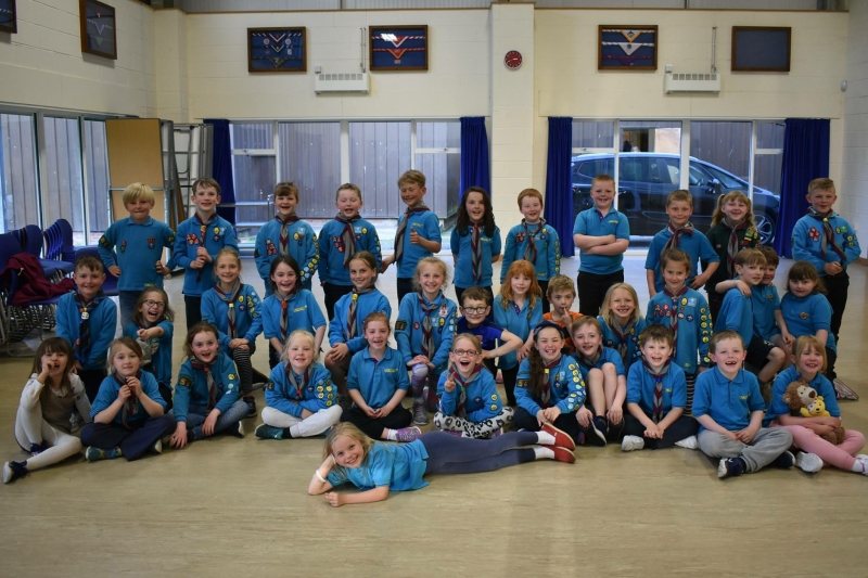 St Annes Beaver Scout Sleepover 2018