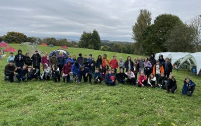 Scouts Bowley Camp 2021